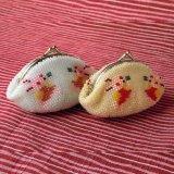 ビーズ編み財布【干支:うさぎ小】カラー2種類