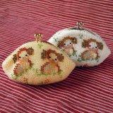 ビーズ編み財布【干支:いぬ】カラー2種類